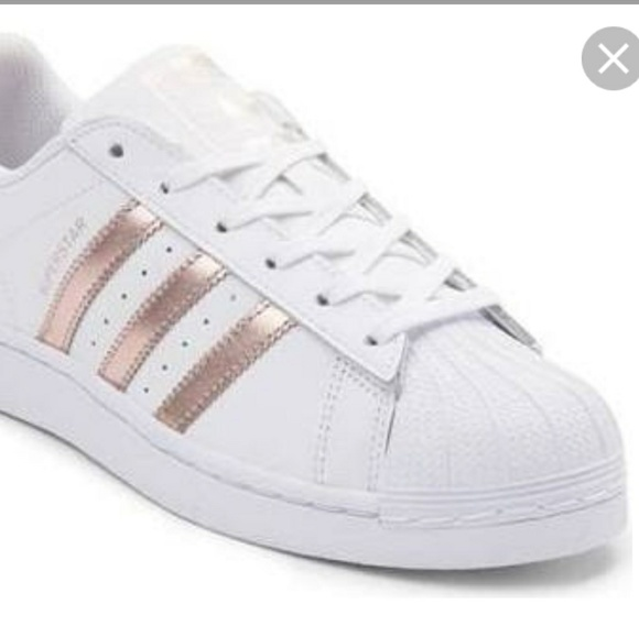 finest selection 312e6 871fd adidas Shoes - Adidas Originals Superstar W White Rose Gold Women